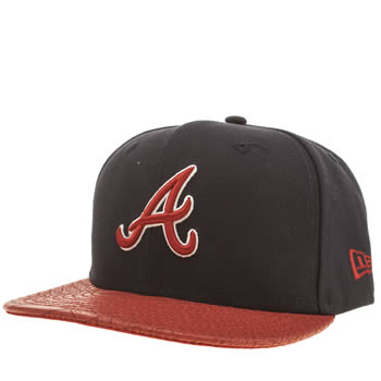New Era Navy & Red Atlanta Reptvize 9fifty Caps and Hats