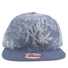 New Era Blue Denim Palm Ny 9fifty Caps and Hats