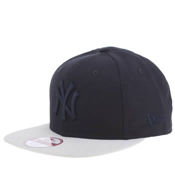New Era Navy & Stone 9fifty Ny Crafted Mlb Caps and Hats