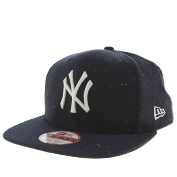 New Era Navy Yankees Speckle 9fifty Caps and Hats