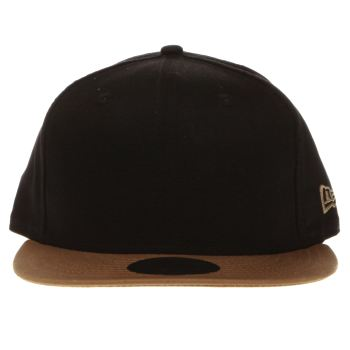New Era Black & Tan 9fifty Contrast Classic Caps and Hats