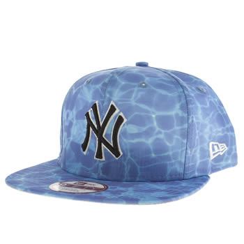 New Era Blue Ny Miami Vibe 9fifty Caps and Hats