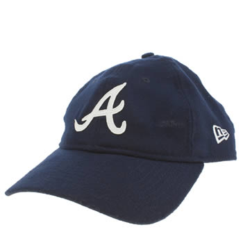 New Era Navy Atlanta Braves 9twenty Adults Hats