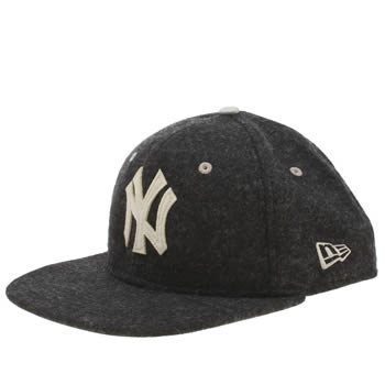 New Era Black Yankees Felt Wool 9fifty Caps and Hats