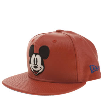 New Era Red Mickey Mouse Hero 9fifty Caps and Hats