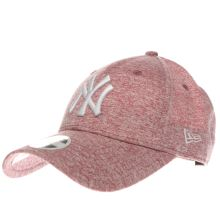 New Era Pale Pink Ny Jersey 9forty Caps and Hats