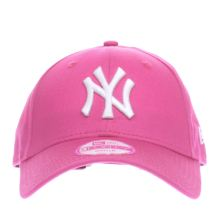 New Era Pink 9forty League Basic Ny Yankees Caps and Hats