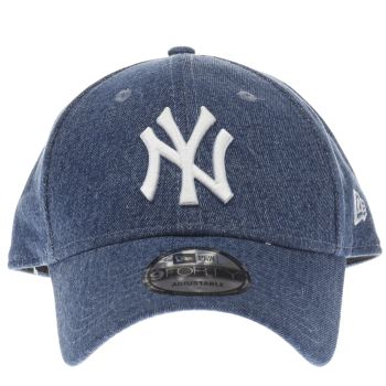 New Era Blue 9forty Essential Denim Caps and Hats