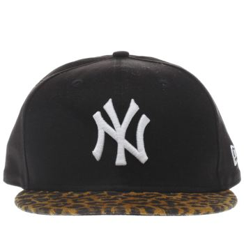 New Era Black 9FORTY NEW YORK YANKEES Caps and Hats