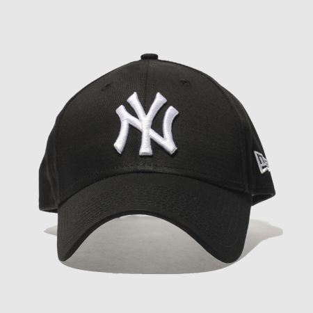black white new era 940 league basic ny yankee caps and. Black Bedroom Furniture Sets. Home Design Ideas