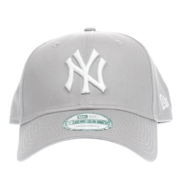New Era Grey Ny 9forty League Basic Caps and Hats