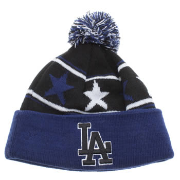 New Era Black and blue Pommy Star Caps and Hats