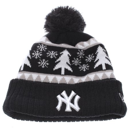 new era ny team snow pine cuff knit 1