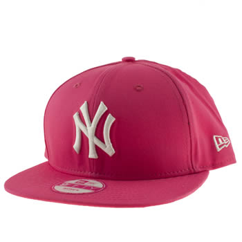 New Era Pink Ny Yankees 9fifty Caps and Hats