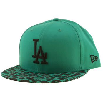 New Era Green La Dodgers 9fifty Caps and Hats