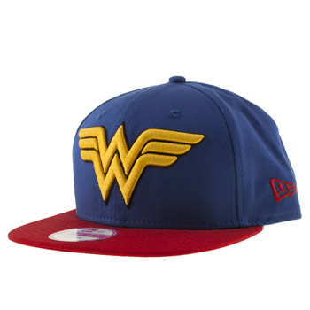 New Era Blue Wonder Woman 9fifty Caps and Hats