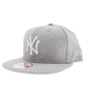 New Era Light Grey Ny Yankees 9fifty Caps and Hats