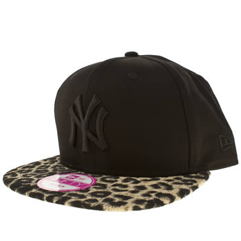 New Era Black & Brown Ny Yankees 9fifty Caps and Hats