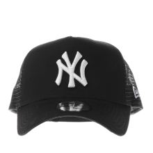 New Era Black Mlb Essential Trucker Adults Hats