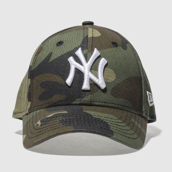 New Era Khaki 9Forty Mlb Essential Caps and Hats