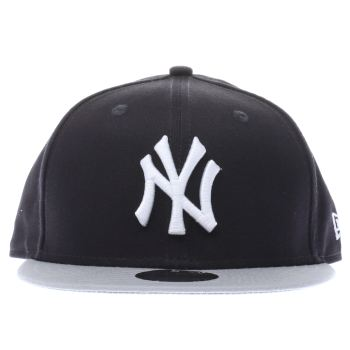 New Era Navy & Grey 9FIFTY KIDS ESSENTIALS Caps and Hats