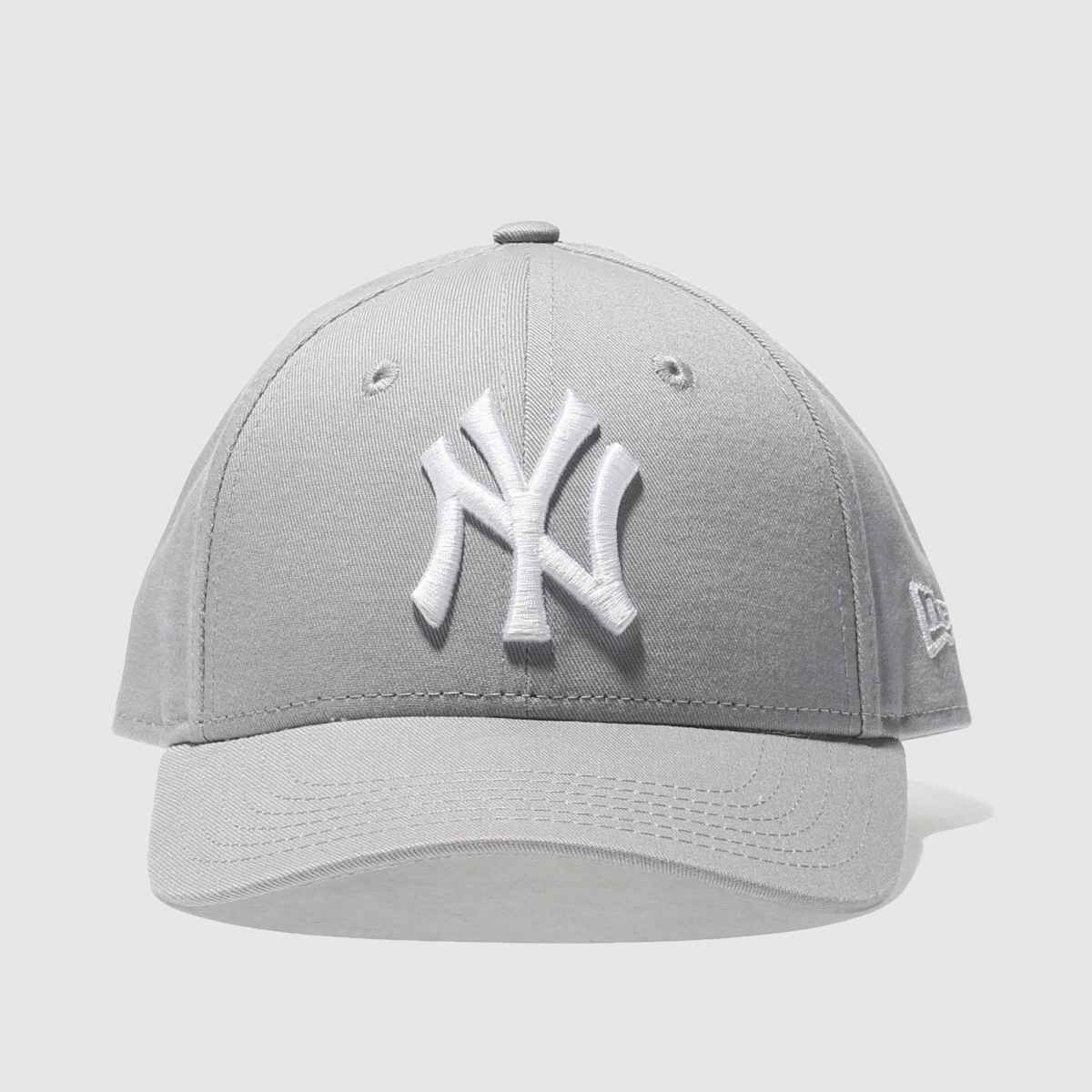 New Era New Era Grey Kids Ny Yankees 9forty