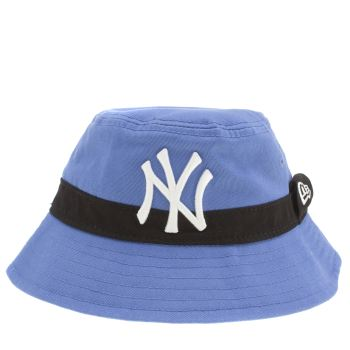 New Era Blue Kids Bucket Pop Caps and Hats