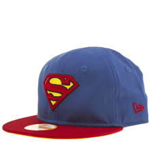 New Era Blue My First Superman 9fifty Caps and Hats