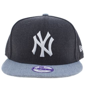 New Era Navy Kids Contrast Ny 9fifty Kids Hats