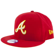 Red New Era Atlanta Braves 9fifty