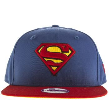 New Era Blue Superman 9 Fifty Youth Caps and Hats