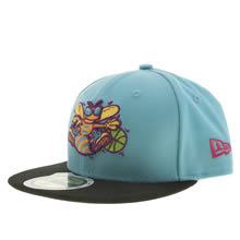 Turquoise New Era Kids Charlotte Hornets 59fifty
