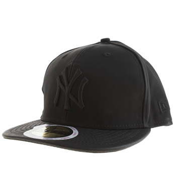New Era Black Ny Premium 59fifty Caps and Hats