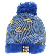 Puma Blue & Yellow Minions Beanie Caps and Hats