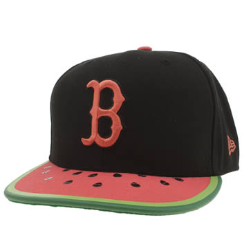 New Era Black & Green Boston Spring Fruits 9fifty Caps and Hats