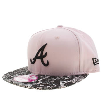 New Era Black & Silver Atlanta Splattered 9fifty Caps and Hats