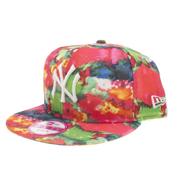 New Era Multi Ny Candy Smudge 9fifty Caps and Hats
