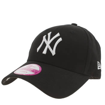 New Era Black L Essential 9forty Adults Hats