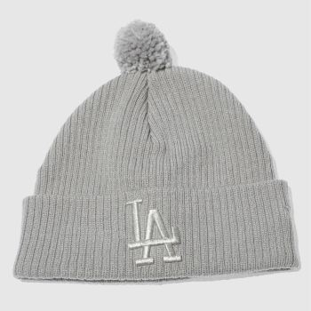 New Era Grey Sport Waffle Knit La Caps and Hats