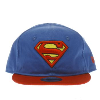 New Era Blue Kids My First Superman 9Fifty Caps and Hats