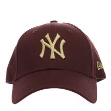 New Era Burgundy Essential 9forty Ny Caps and Hats