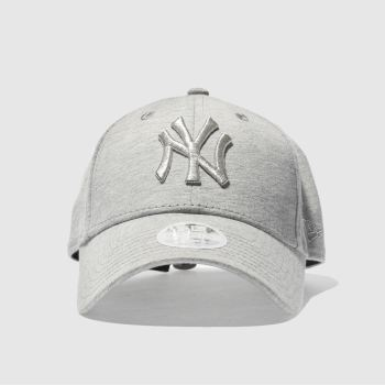 New Era Light Grey ESSENTIAL JERSEY 9FORTY Caps and Hats