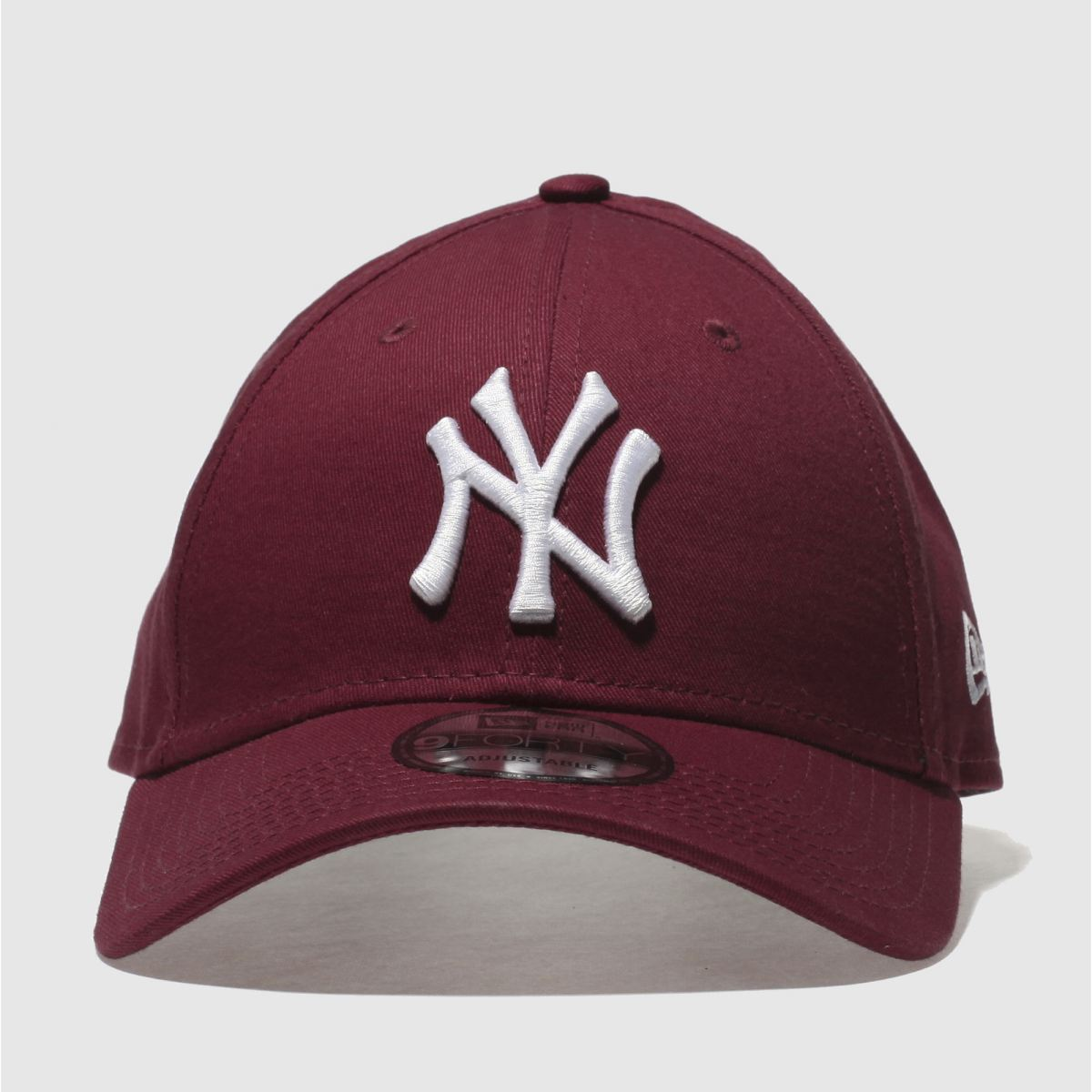 New Era New Era Burgundy Essential 9forty Ny Yankees