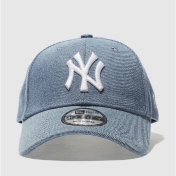 New Era Blue 9Forty Denim Ny Yankees Caps and Hats