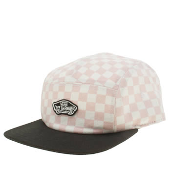 Vans Peach Checkerboard Camper Caps and Hats