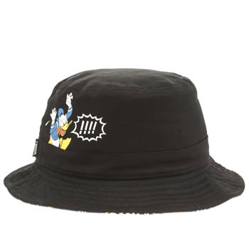 Vans Black and blue Donald Duck Bucket Adults Hats