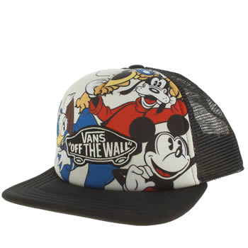 Vans Multi Disney Mickey Trucker Kids Hats