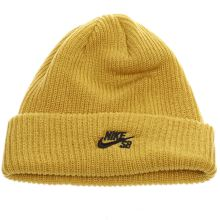 Nike Sb Yellow Fisherman Beanie Caps and Hats