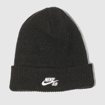Nike Sb Black Fisherman Beanie Caps and Hats
