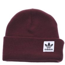 Adidas Burgundy High Beanie Caps and Hats